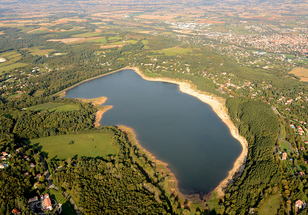 Lac de Saint-Ferréol ©P.Thébault