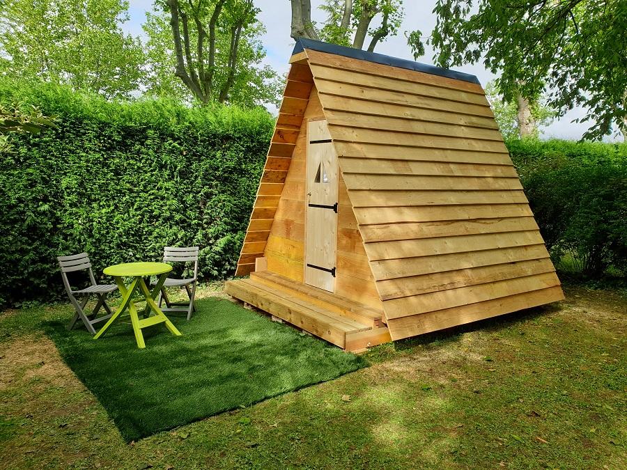 Tente Bois 1 Chambre