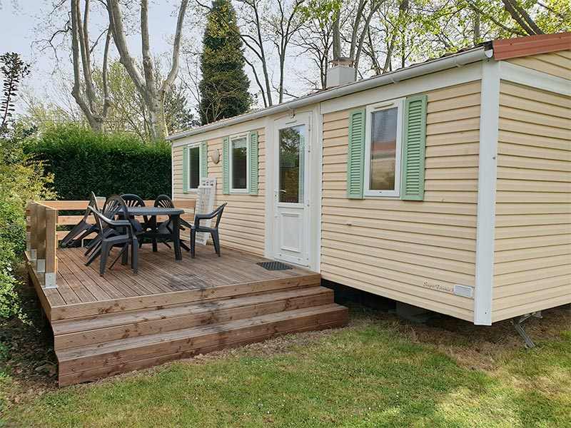 Location Mobil-Home 3 chambres
