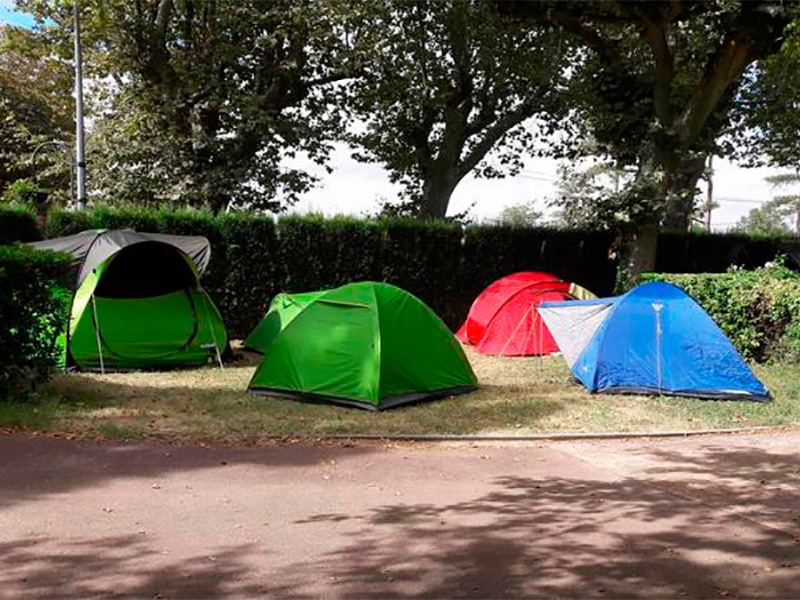 emplacement tente eco