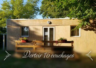 Location Dortoir 16 couchages